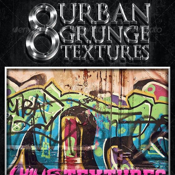 8 Urban Grunge Textures