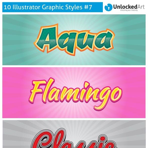 Custom Graphic Styles 7