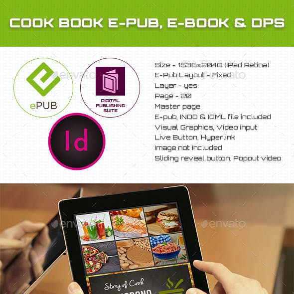 Cook Book E-book, E-pub & DPS