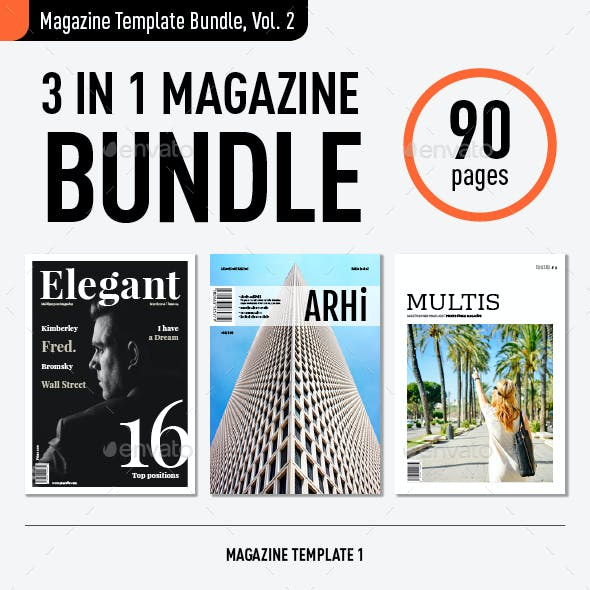 Magazine Template Bundle, Vol. 2
