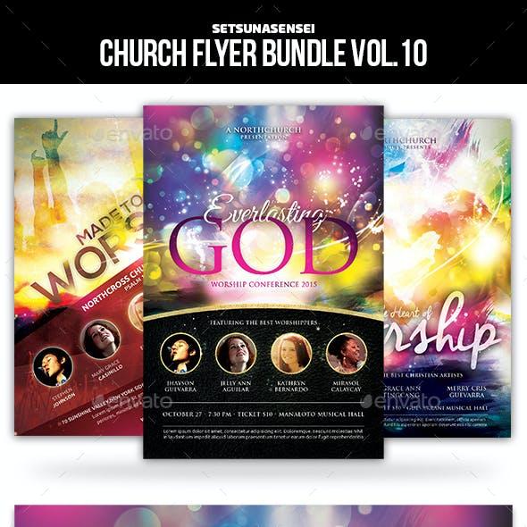 Church Flyer Bundle Vol. 10