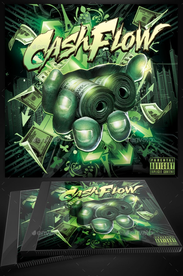 Mixtape Cd Cover Template Cashflow