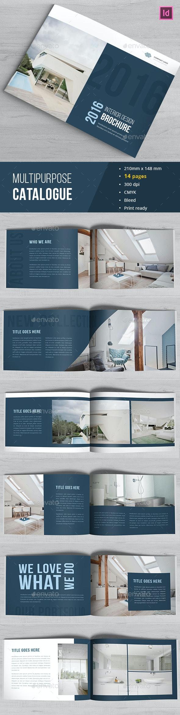 Indesign Portfolio Catalogue - Catalogs Brochures