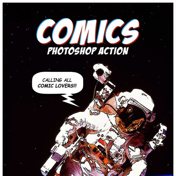 Comics Photoshop Action
