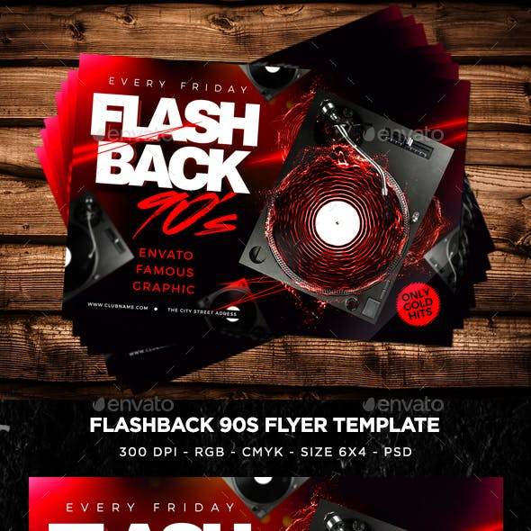 Flash Back Flyer V6