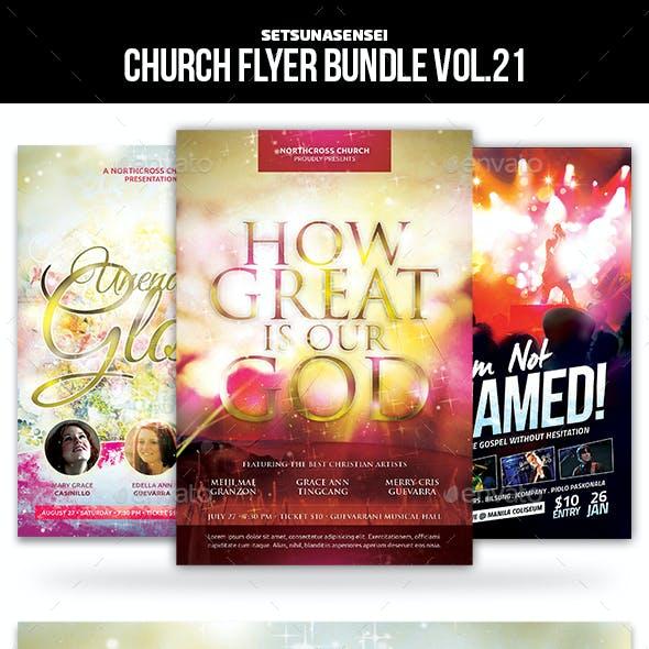 Church Flyer Bundle Vol. 22