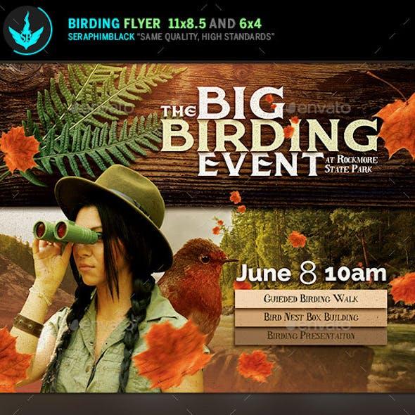 Birding Event Flyer Template