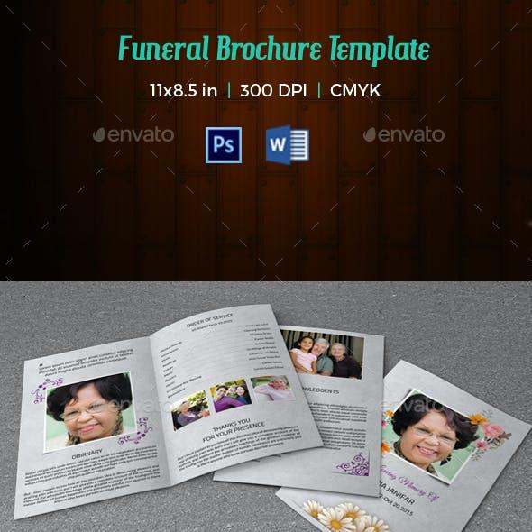 Funeral Program Template-V88
