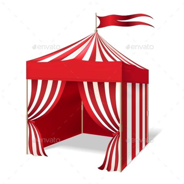 Circus or Carnival Tent