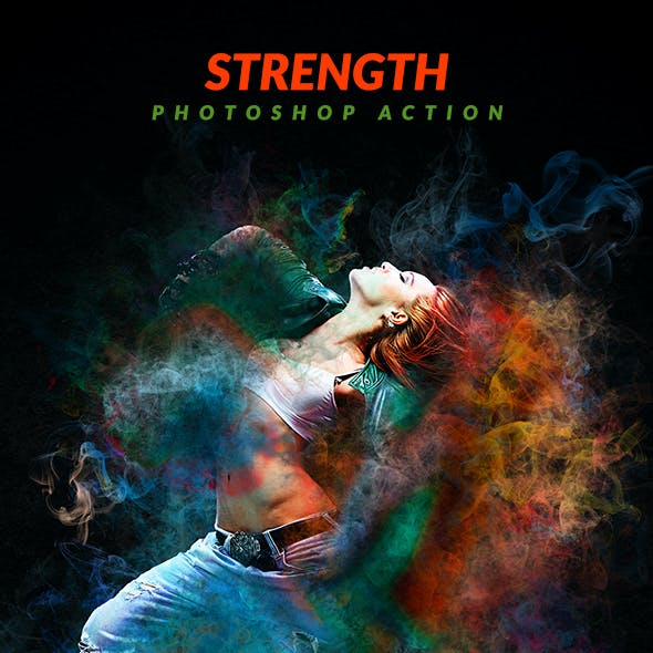 Strength Photoshop Action