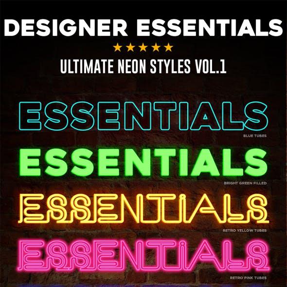 Designer Essentials Neon Vol.1