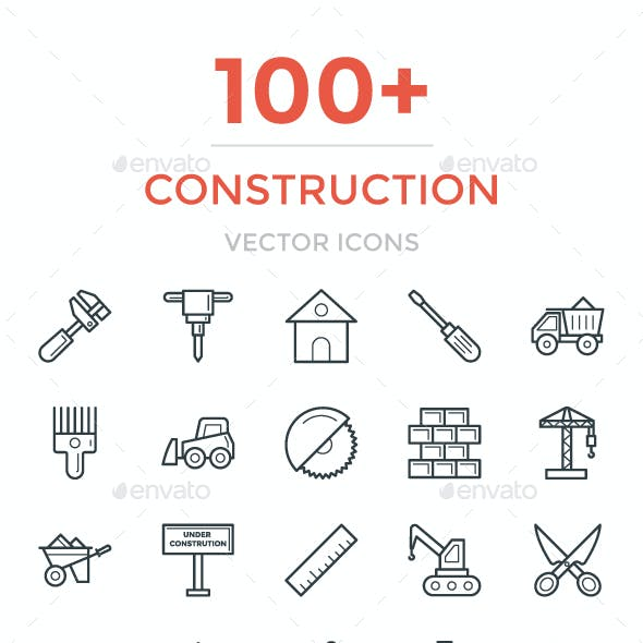 100+ Construction Vector Icons