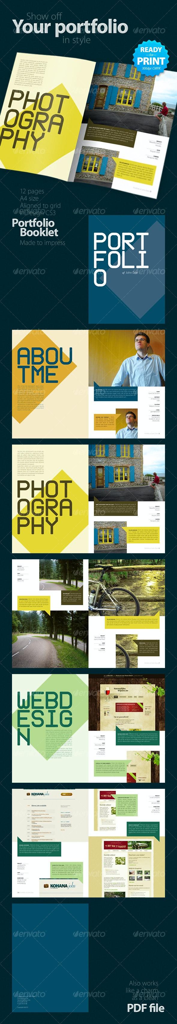 Portfolio Booklet (12 pages) - Portfolio Brochures