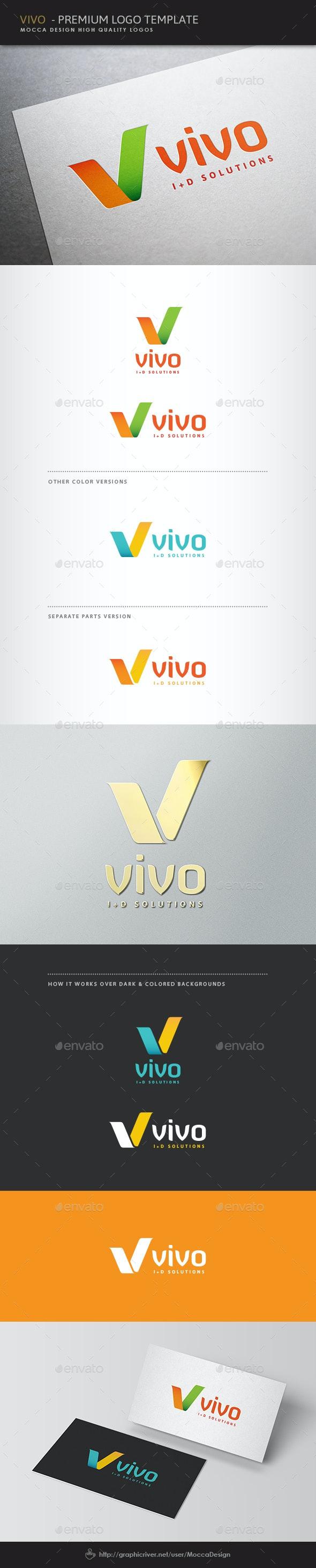 Vivo Logo - Letters Logo Templates