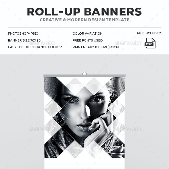 Photography Roll-Up Banner