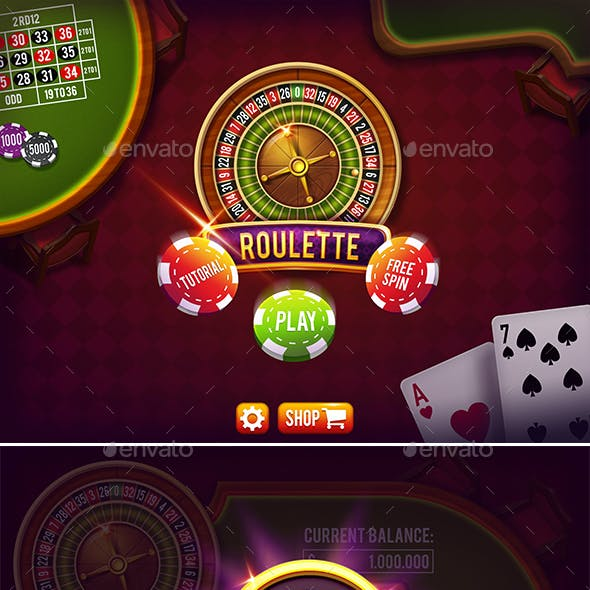 Casino Roulette Game Pack with GUI