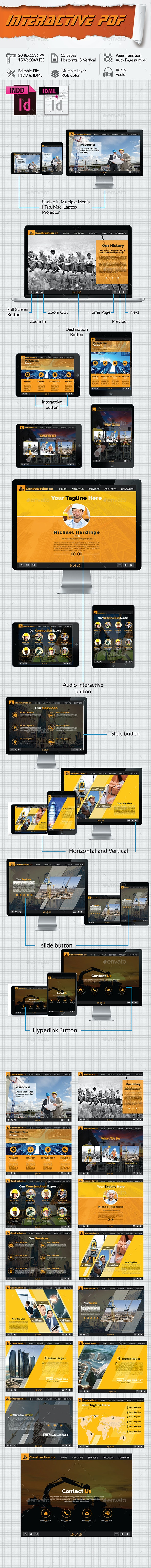 Real Estate, Construction and Builders Interactive  - Digital Magazines ePublishing