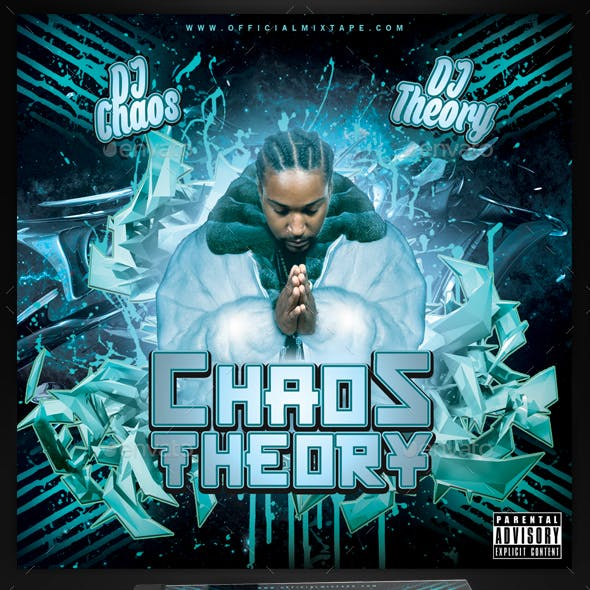 Chaos Theory Mixtape / CD Cover Template