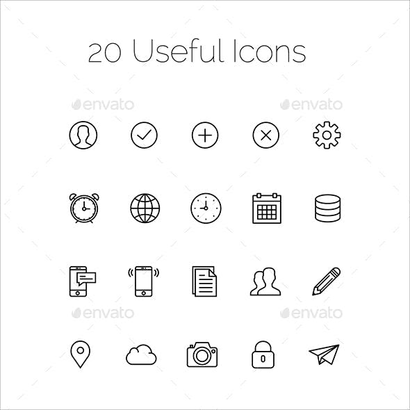 20 Useful Icons