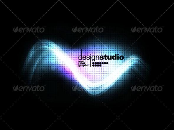 Wavey design background v.2 - Backgrounds Graphics