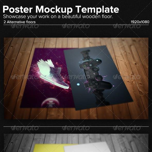Poster Mockup Template