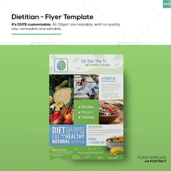 Dietitian/ FlyerTemplate