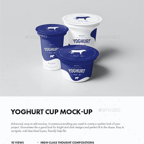 Yoghurt Mock-up