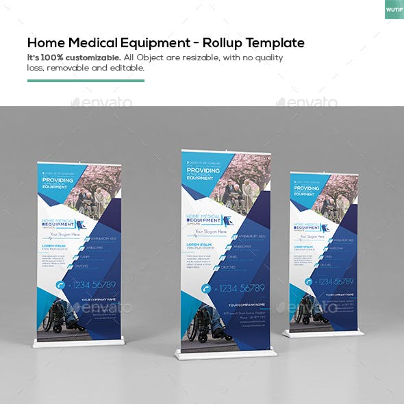 Home Medical Equipment / Roll-up Template