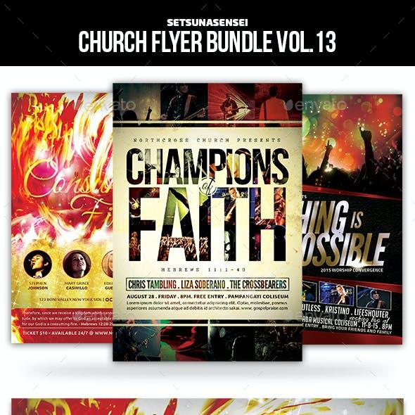 Church Flyer Bundle Vol. 13
