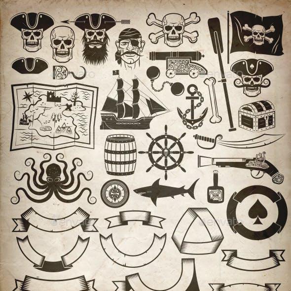 Pirate Design Elements