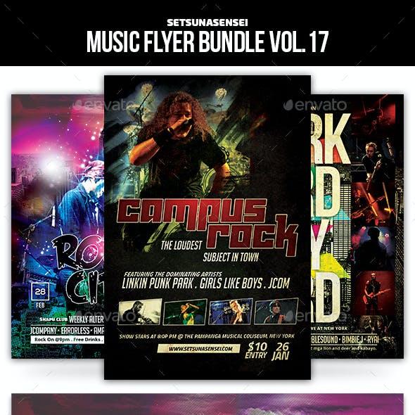 Music Flyer Bundle Vol. 17