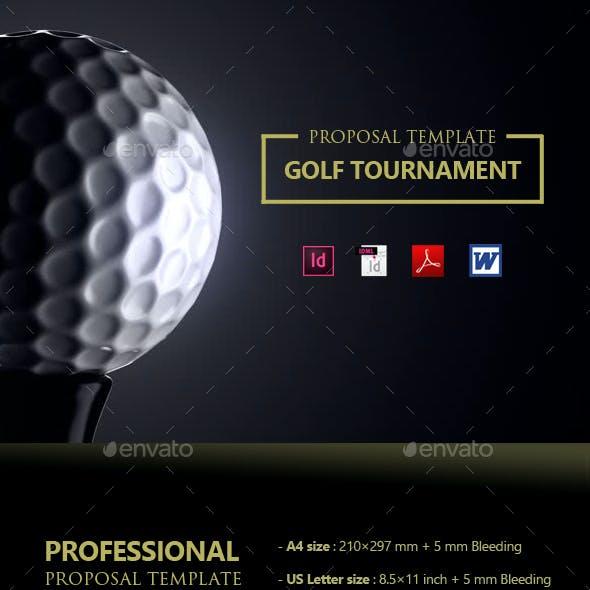 Clean Golf Tournament Proposal