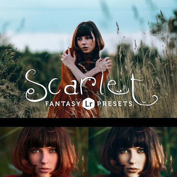 Scarlet Fantasy Lightroom Presets