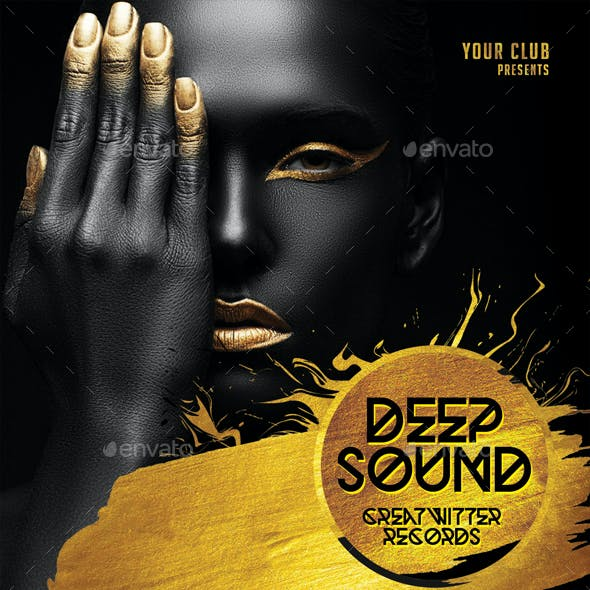 Deep Sound CD Cover Artwork