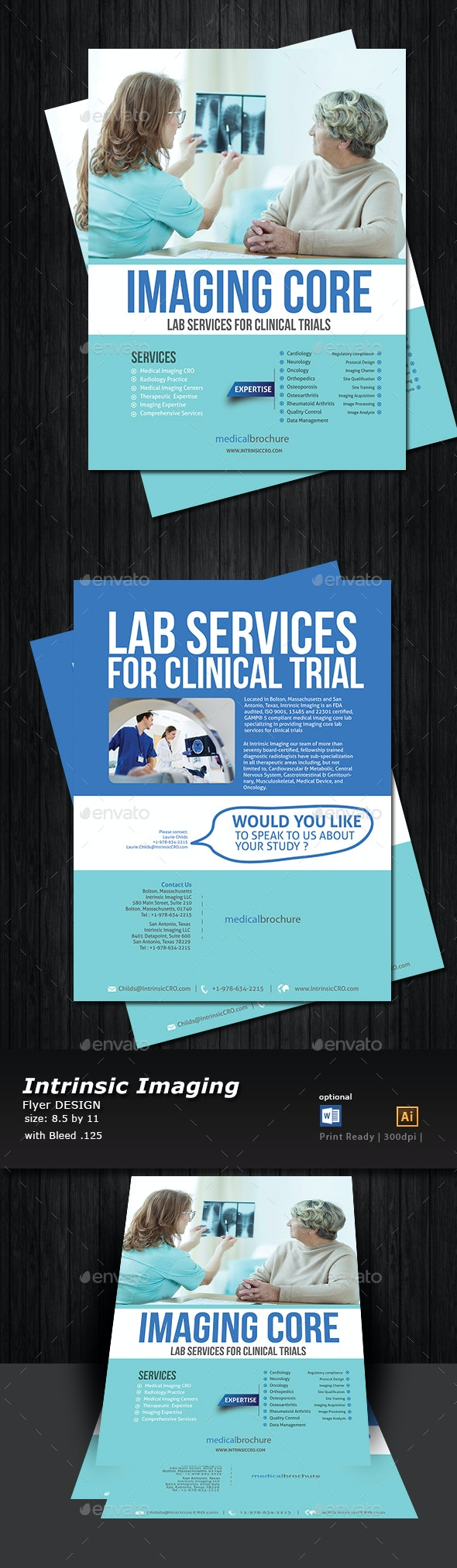 Medical Flyer Double Sided  - Print Templates