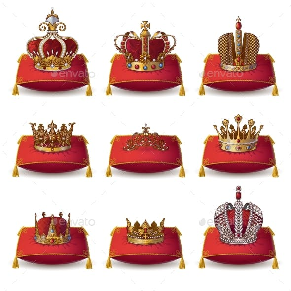 Crowns of Kings and Queen Collection