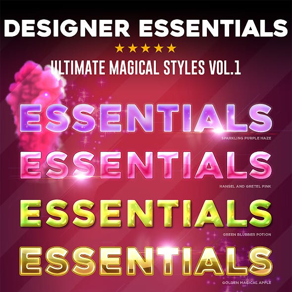 Designer Essentials Magical Vol.1