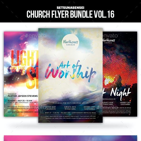 Church Flyer Bundle Vol. 16