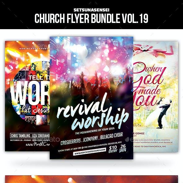 Church Flyer Bundle Vol. 19