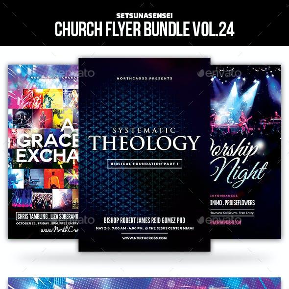 Church Flyer Bundle Vol. 24