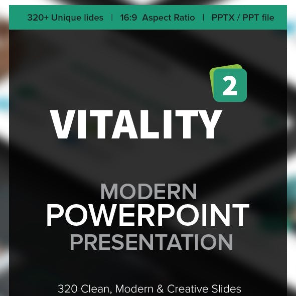 Vitality 02 PowerPoint Template