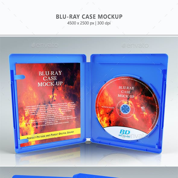 Blu-ray Case Mock-up