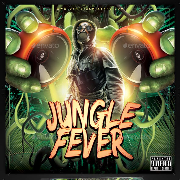 Mixtape Cover Template / Jungle Fever