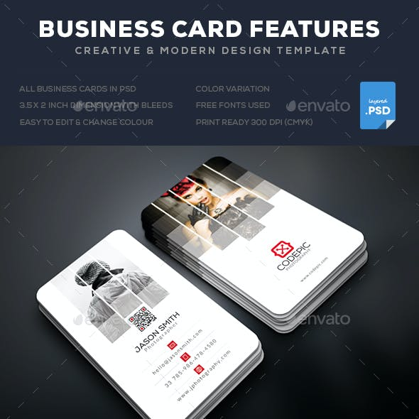 Shade Photography Business Card