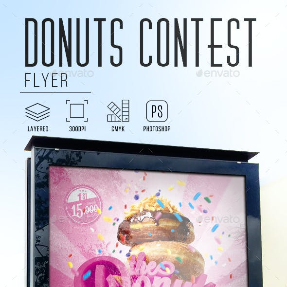 Donuts Contest Flyer
