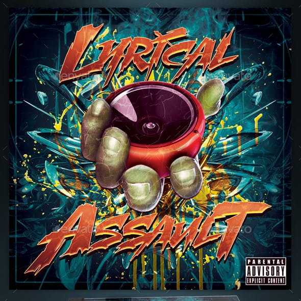 Mixtape Cover Template / Lyrical Assault