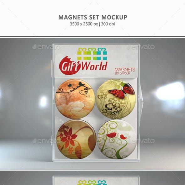 Magnets Set Mock-up