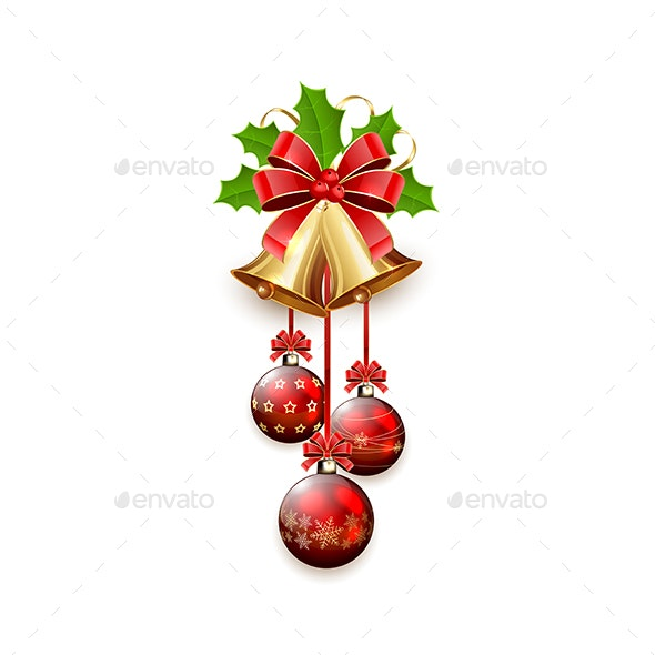 Christmas Bell Images.Christmas Bells And Balls