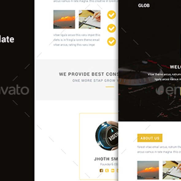 Glob - Multipurpose E-Newsletter Template