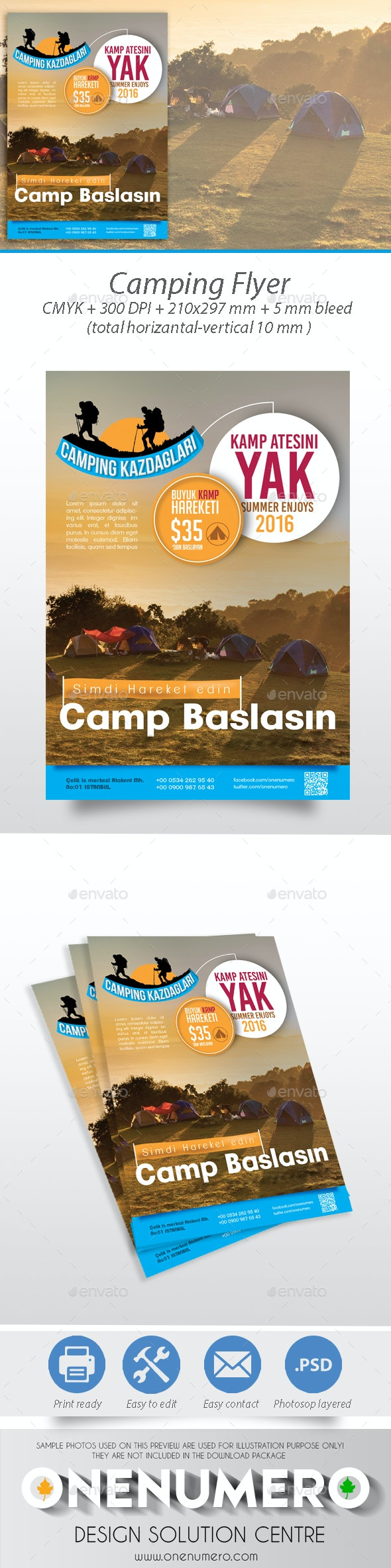 Camping Flyer Templates - Events Flyers
